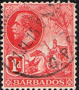 Barbados 1912 Seal of the Colony SG 172 Fine Used SG 172 Scott 118 Condition Fine Used Only one post charge applied on multipule purchases Details N