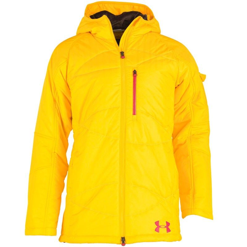 49fcb996f9 Under Armour Womens Cold Gear Armour Loft Jacket Yellow | I wish ...