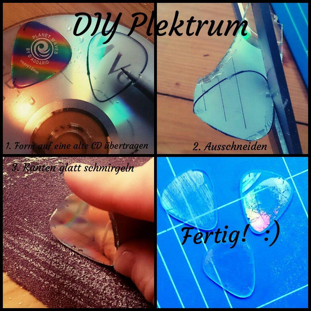 diy plektrum einfaches plektrum selber machen: 1. form des plektrums