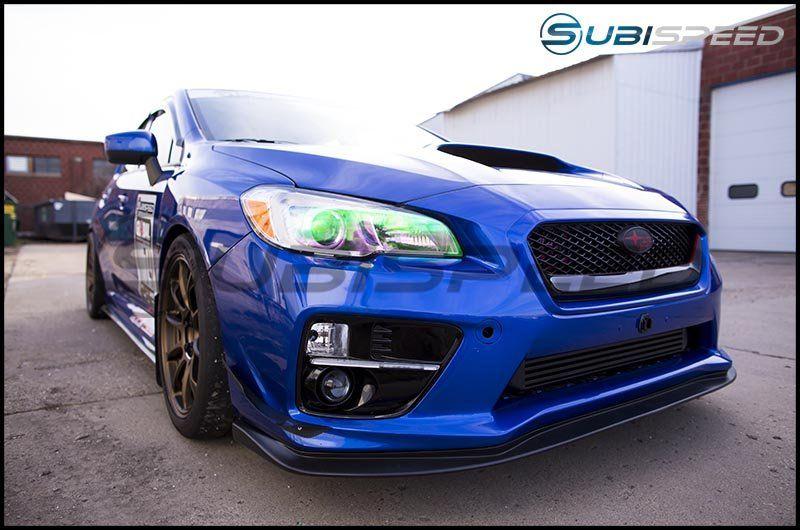 HT Autos Subaru 2015 WRX STi V2 Curved Front Lip Spoiler