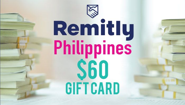 Remitly Philippines 60 Amazon Gift Card After Send Money To Philippines Gift Card Send Money Amazon Gift Cards