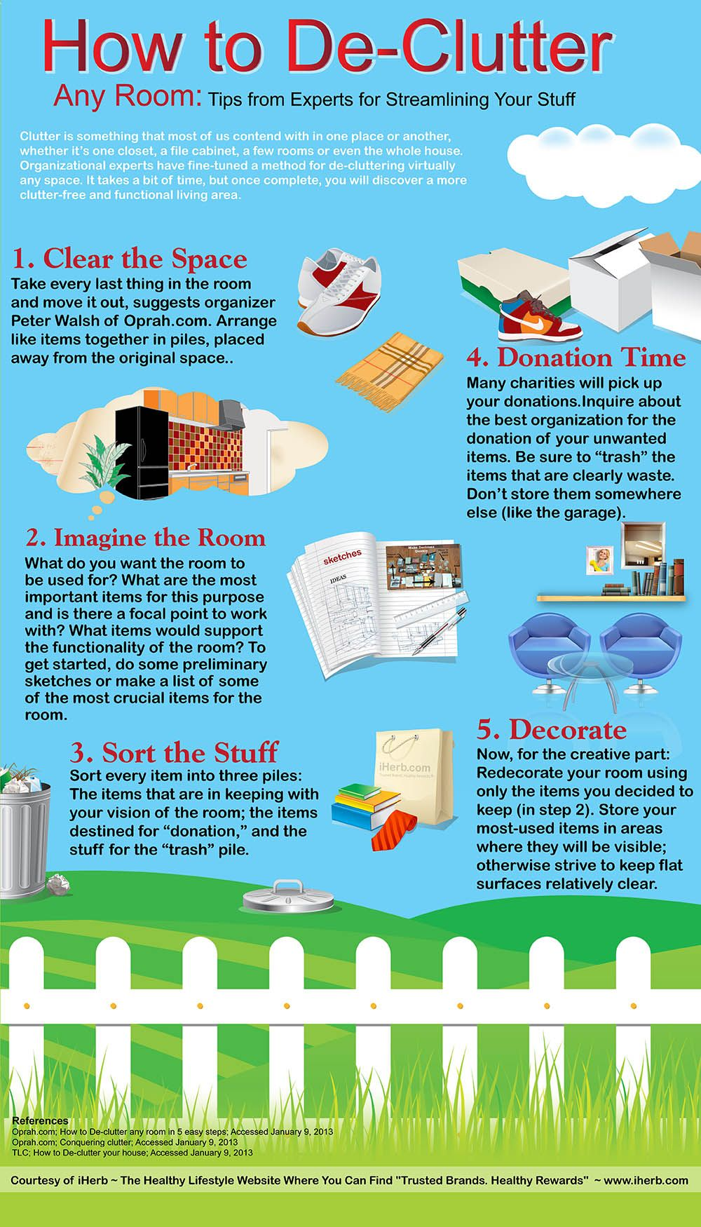 i just decluttered my bedroom but my 1st step was 2 i sat - How Do I Declutter My House