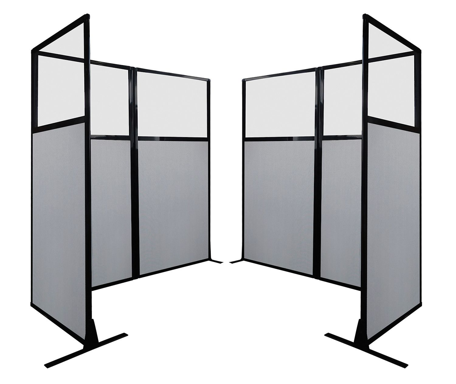 Create Instant Privacy With Our Portable Work Station Screens