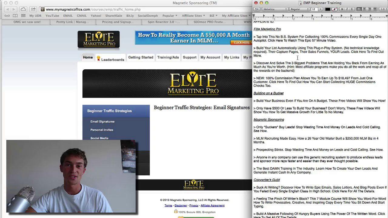 Email Signatures Email signatures, Elite marketing pro