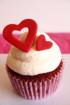 Valentineu0027s Day Cupcake Idea