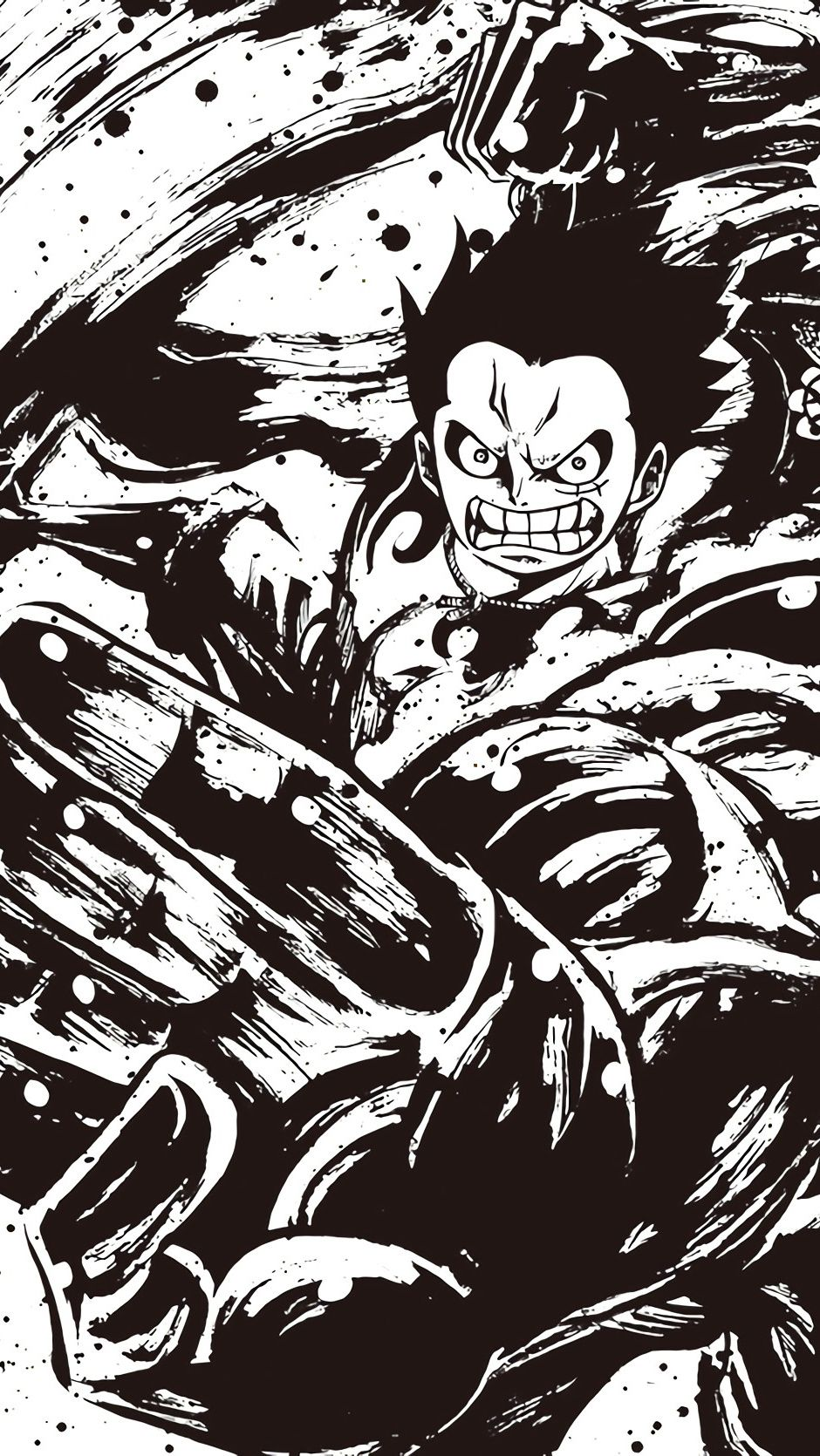Luffy Gear 4 One Piece Comics Video Game Series Art Anime