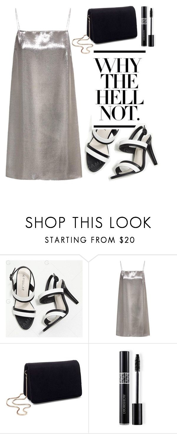 """""""Untitled #230"""" by livingonvee on Polyvore featuring Yves Saint Laurent, Miss Selfridge and Christian Dior"""