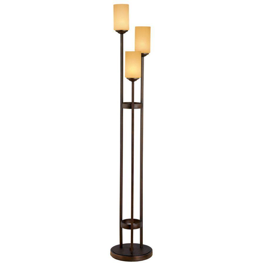 Portfolio 62 In Oil Rubbed Bronze 3 Light Multi Head Floor Lamp