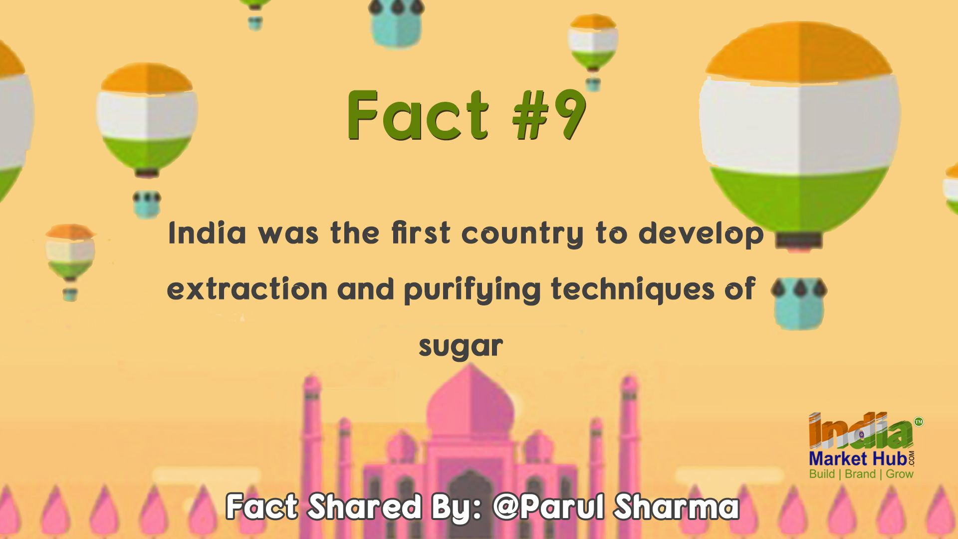 Here we go! We're pleased to announce the winner for the fact #10 #ParulSharma The contest has now moved to the next level Keep participating with More zeal and enthusiasm! & Keep winning exciting prizes!! Share more facts in the comments below to win! #IndiaMarketHub