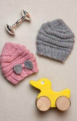 Strickmützchen Für Frühchen Baby Crochet Pinterest