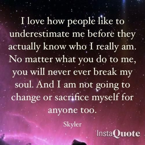 quotes on underestimation with images | love how people like ...