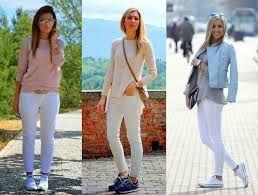 Resultado de imagem para calças jeans femininas estilosas