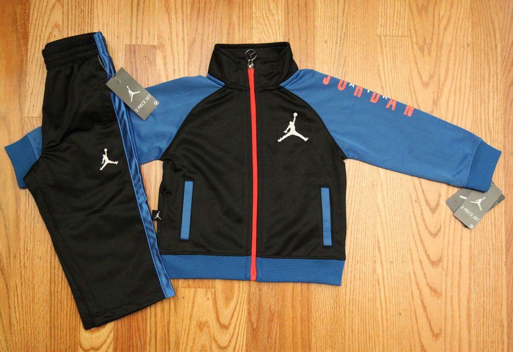 4c716eeee02b31 Air Jordan Toddler Boy Jogging Set ~ Tracksuit ~ Black