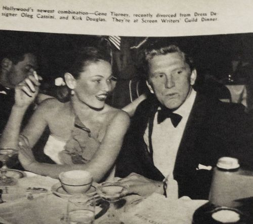 Image result for kirk douglas and gene tierney