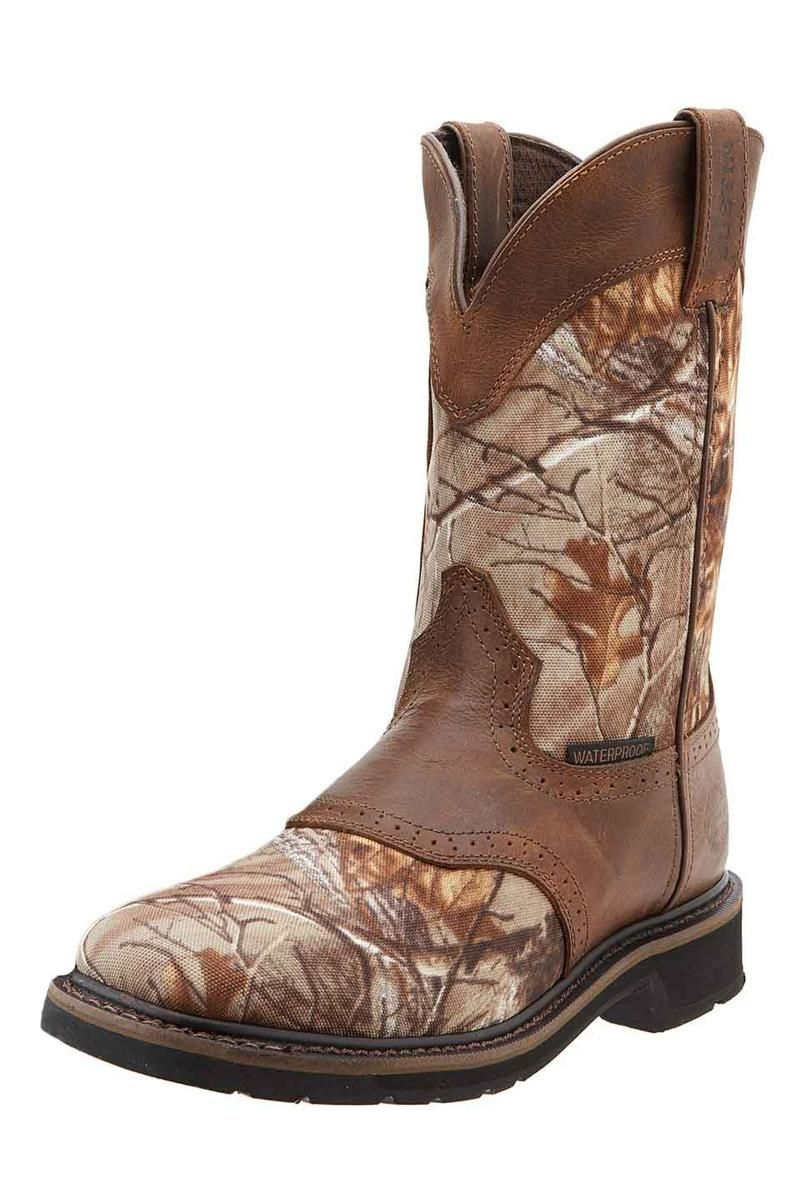 2b707326a71 ONLY $133.95!! Justin Men's Waterproof Realtree #Camo Cowboy Boots ...