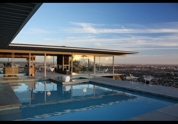 Case Study House 22 The Stahl House Los Angeles California Arts - Stahl-house-a-modern-residence-in-los-angeles