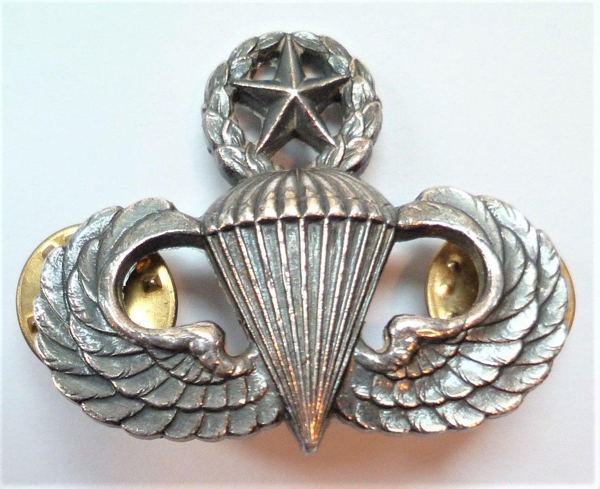 United States Senior Parachutist Badge American Army