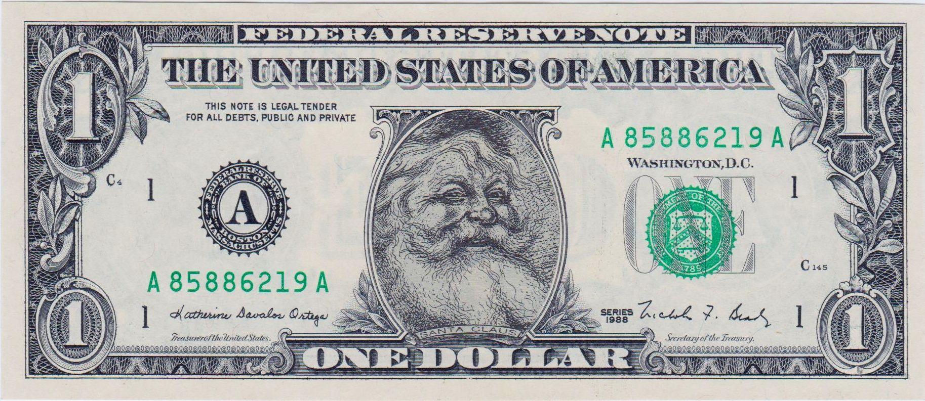 united states one dollar bill - HD1827×793