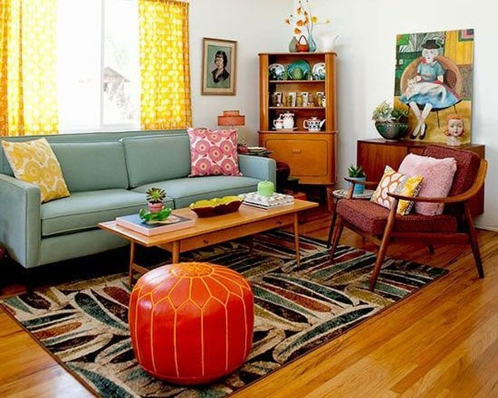 46+ Amazing Mid Century Modern Living Room Decor Ideas # ...