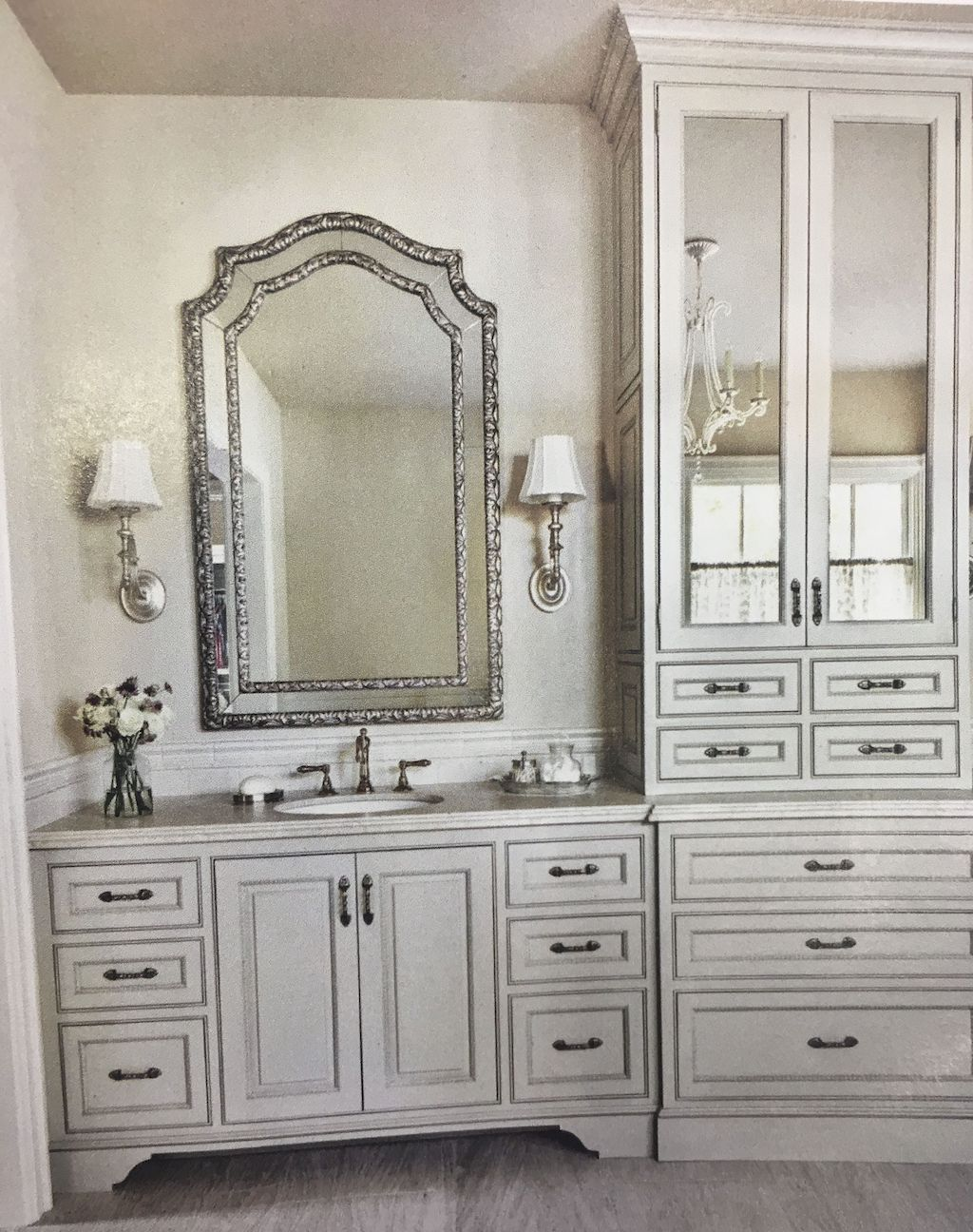 63 Inspiring French Country Bathroom Design Ideas Homixover Com French Country Bathroom Small Country Bathrooms Country Style Bathrooms