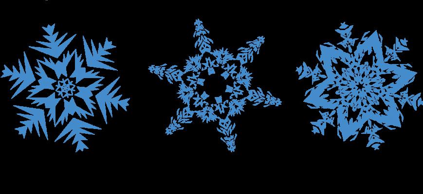 Png Transparent Snowflakes Png 869 400 Snowflake Clipart Snowflakes Transparent Background