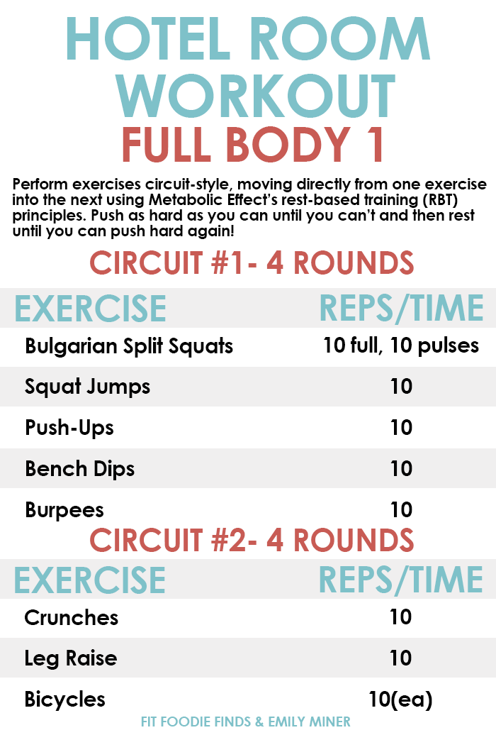 full body hotel room workout bodyweight only, no equipment requiredfull body hotel room workout bodyweight only, no equipment required!