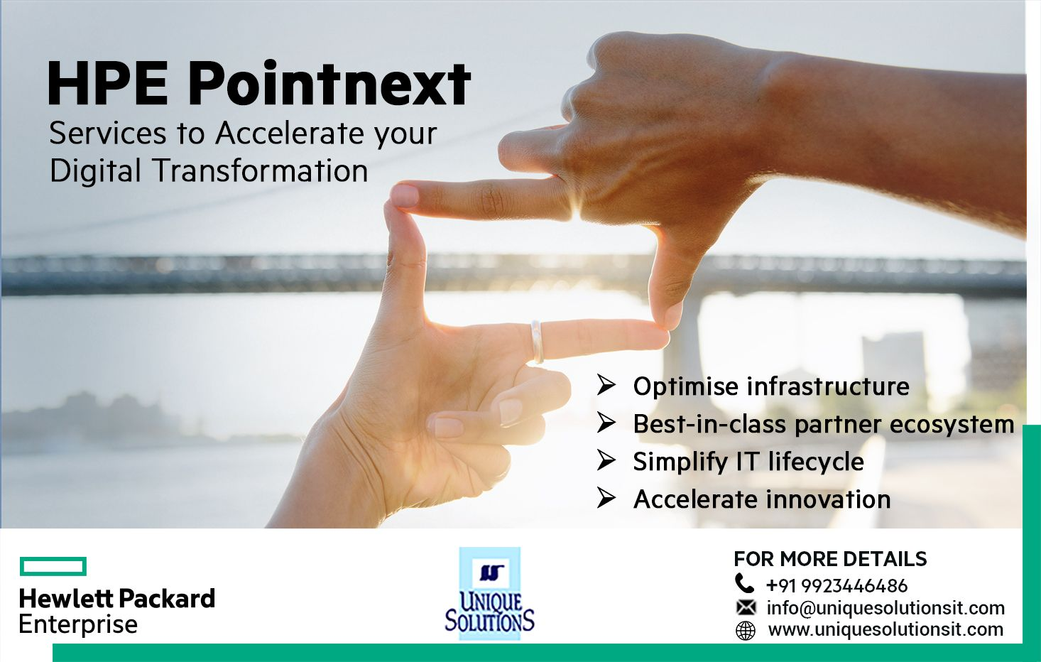 Pointnext Is A Services Organization Built For The Future To Help Customers Optimize And Leverage The Ideal Digital Transformation Infrastructure Acceleration
