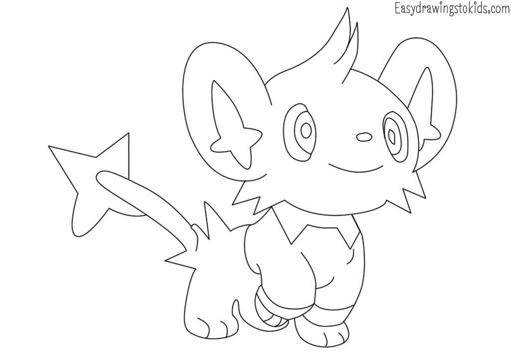 Luxray Pokemon Drawing Pokemon Coloring Pages Pokemon Sketch Pokemon Coloring