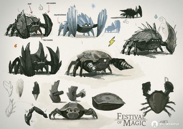 Creature Design Diary - Crabler Enemy part  1 news