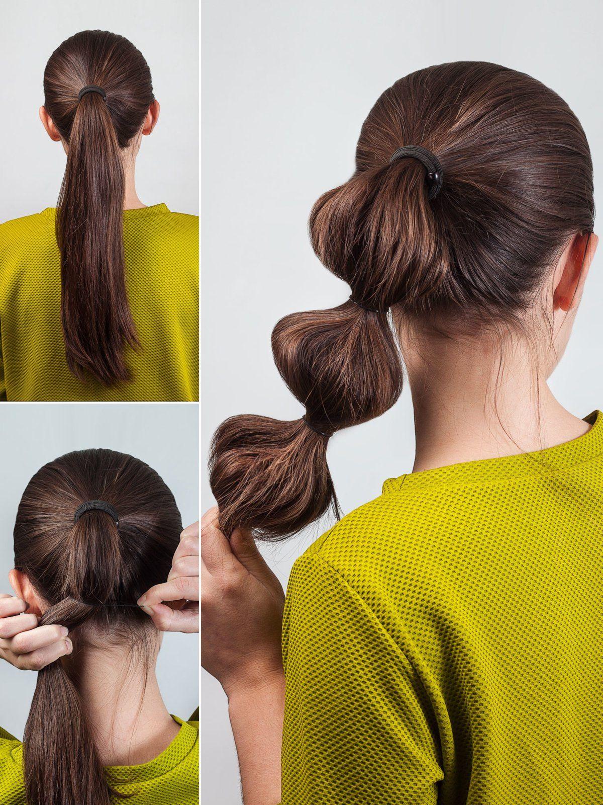 Step By Step Die 10 Schönsten Frisuren Zum Nachstylen Diy Haare