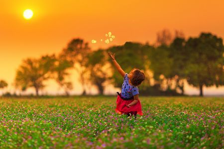 Playing Kid Photo by Syed Mehdi Bukhari -- National Geographic Your Shot