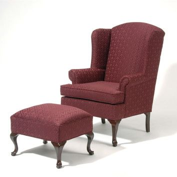 Serta Upholstery Wing Back Chair And Ottoman Comfortable Chair Design Chair And Ottoman Set Chair And Ottoman