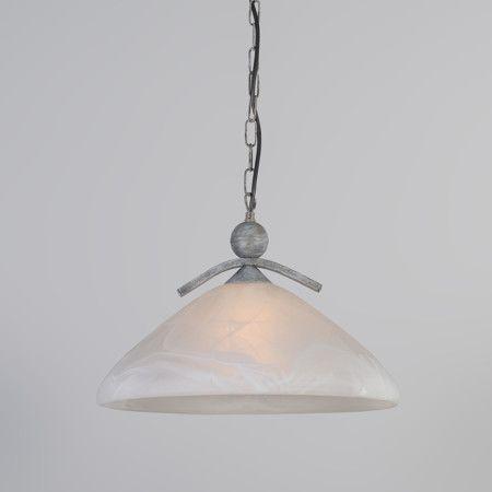 Lámpara colgante SCORZE 1 gris antiguo #iluminacion #decoracion #interiorismo