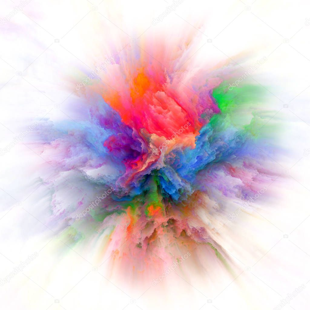 Vibrant Color Splash Explosion - Stock Photo , #spon, #Splash, #Color,  #Vibrant, #Photo #AD | Seni gelap, Desain, Seni