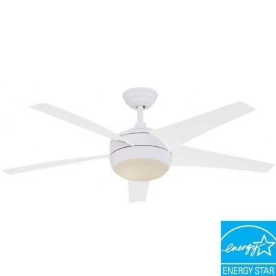 Hampton bay windward 54 in white energy star ceiling fan 55296 at hampton bay windward 54 in white energy star ceiling fan 55296 at the home depot tablet aloadofball Choice Image