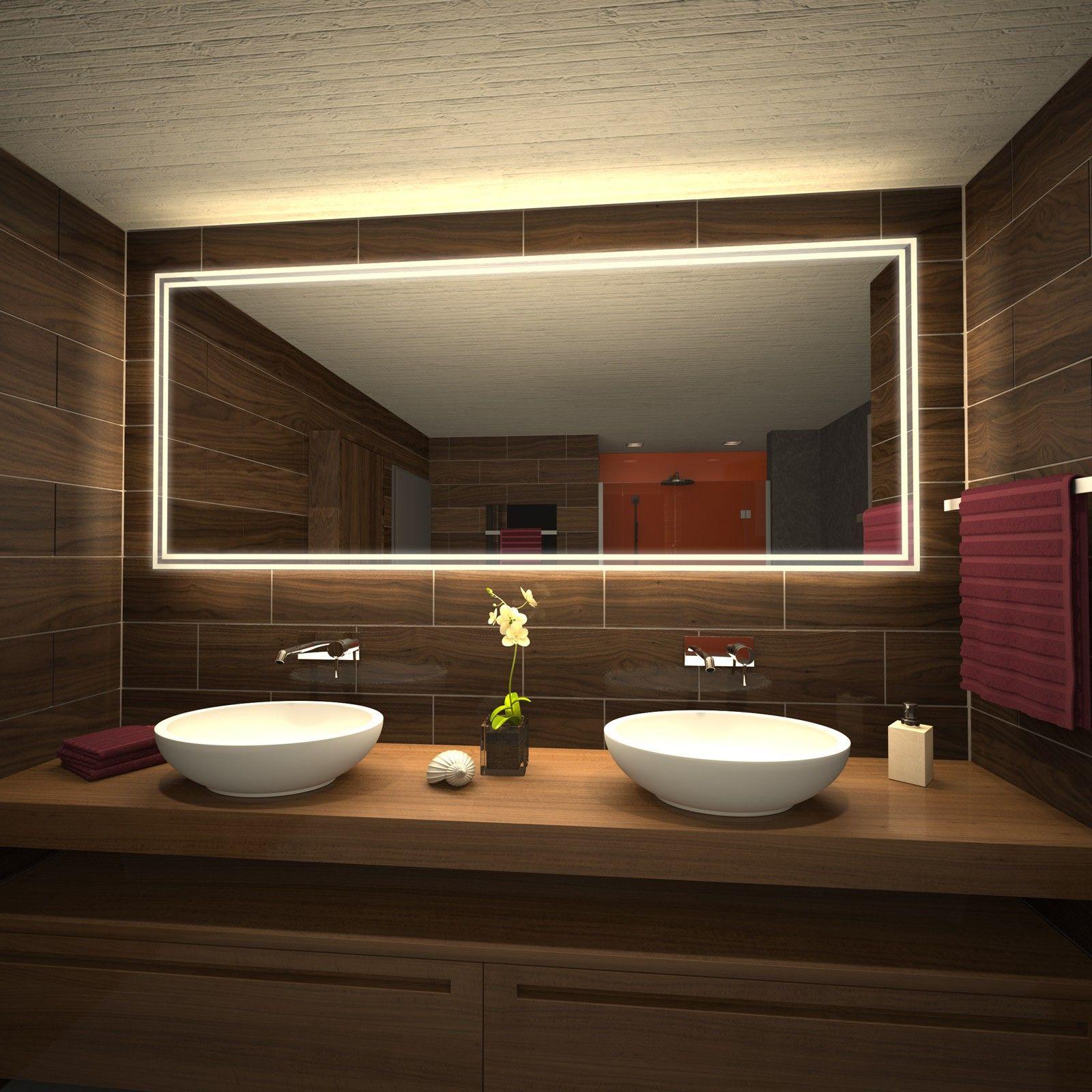 Lichtspiegel Milsan Illumination Bathroom Lighting Mirror Und Bathroom