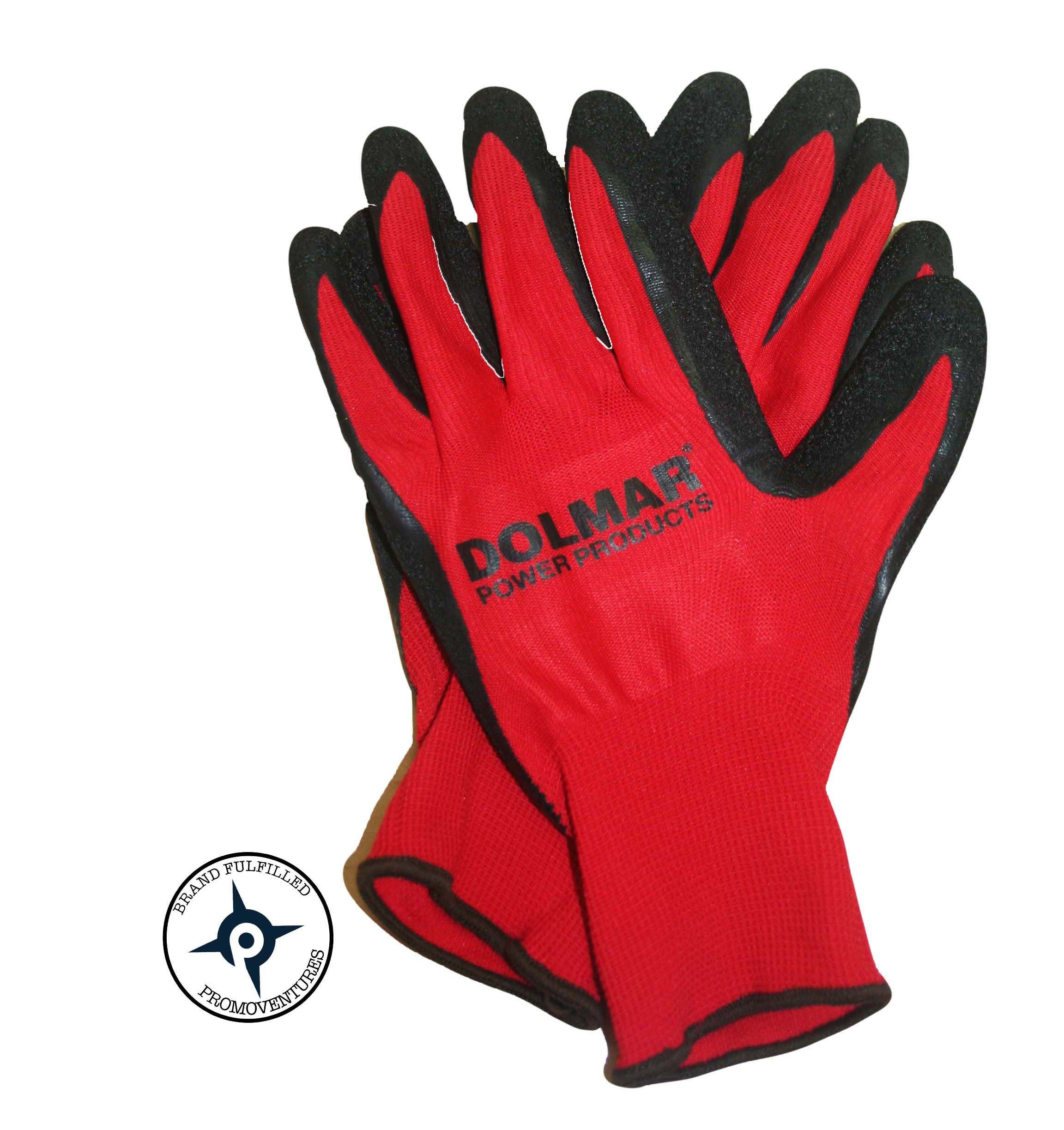 #Promoventures #custom #embroidered gloves used as a #giveaway for #Dolmar  demo