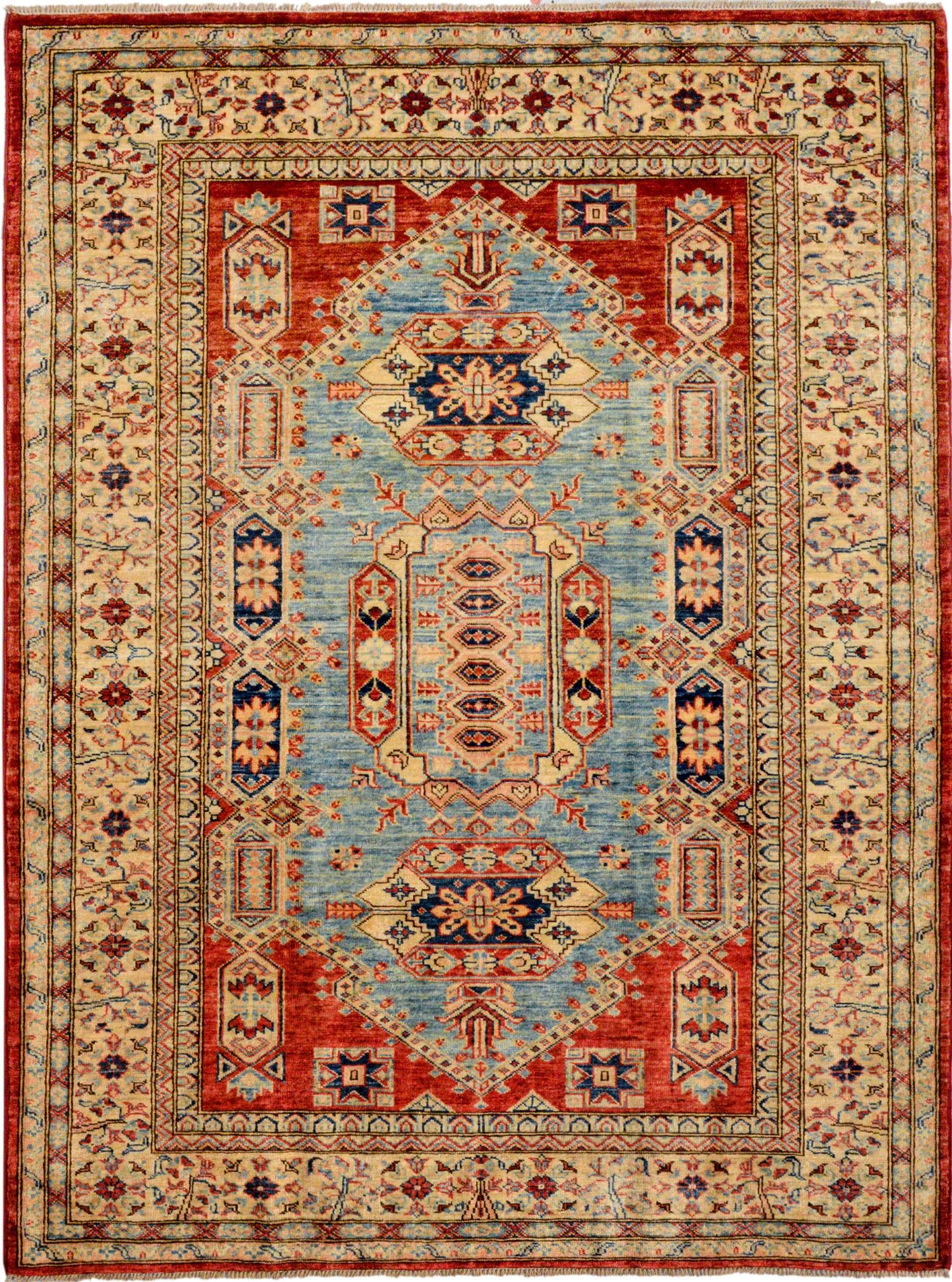 Rust Oriental Kazak Rug 4 11 X 6 8 Ft No 11962 Http Alrug Com Rust Oriental Kazak Rug 4 11 X 6 8 Ft No 11962 Html Rugs On Carpet Rugs Carpet