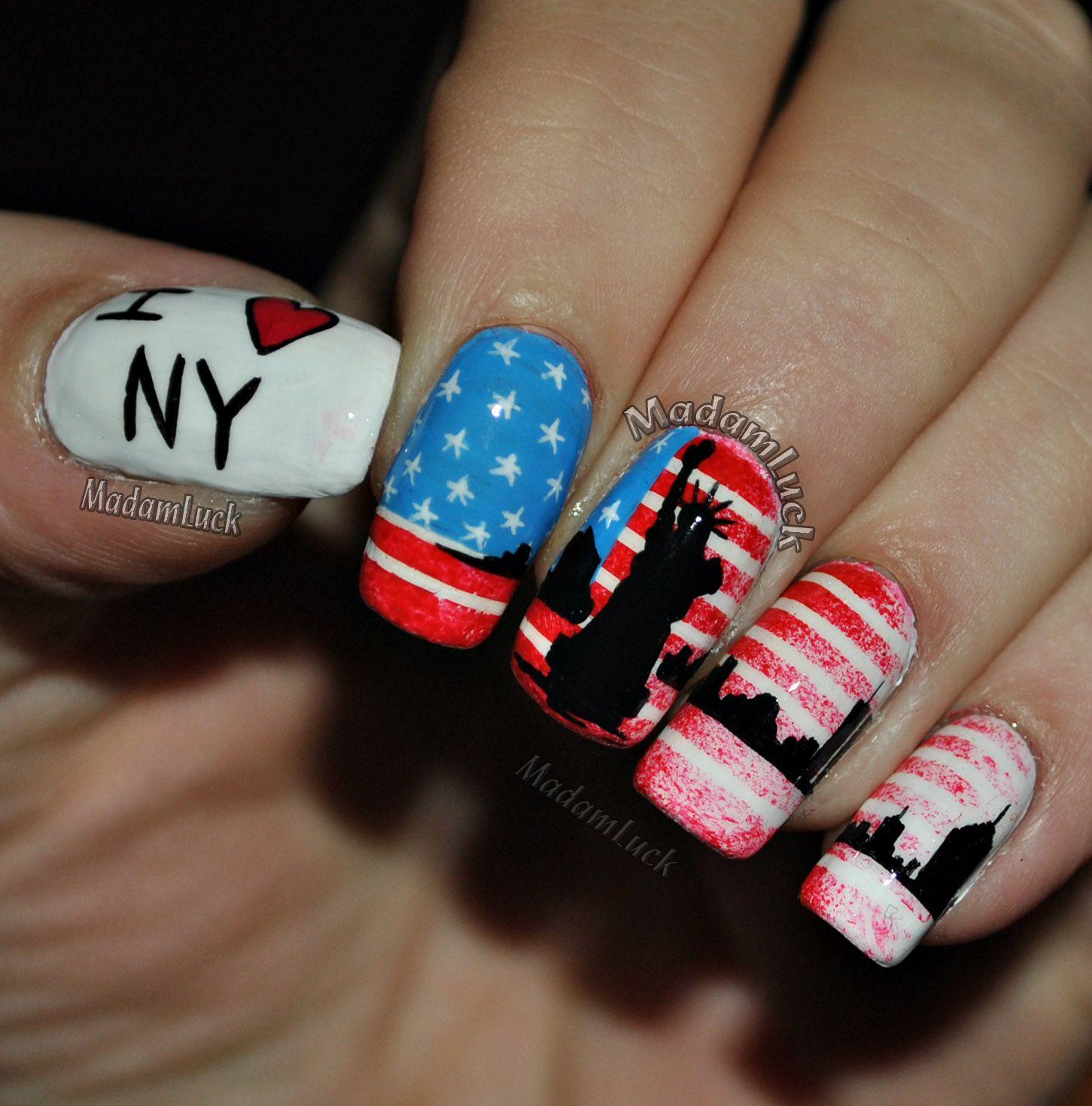 Fancy Nail Art New York City Ideas - Nail Art Ideas - morihati.com