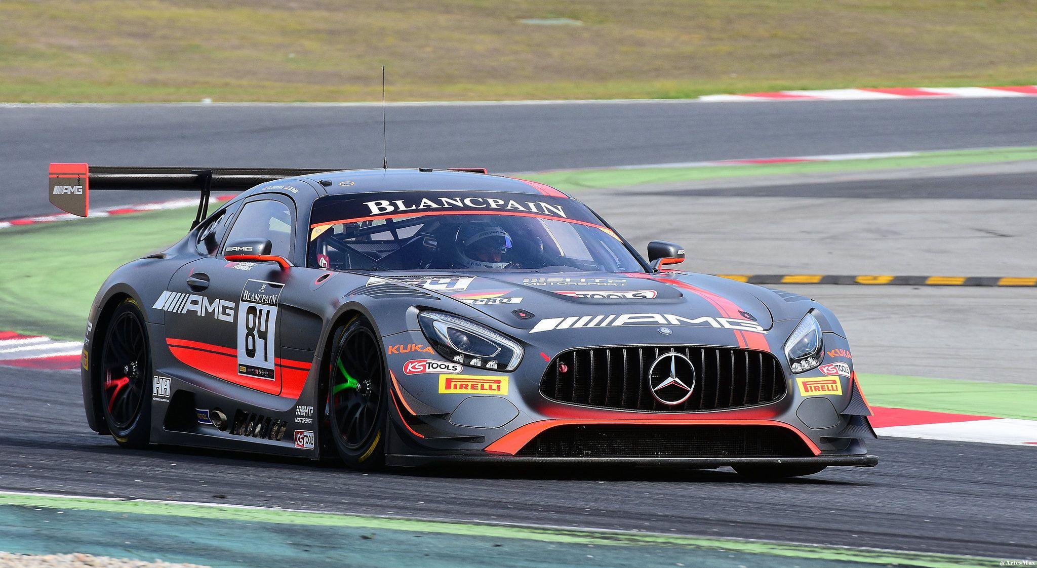 Mercedes Amg Gt3 Dominik Baumann Maximilian Buhk Amg Team