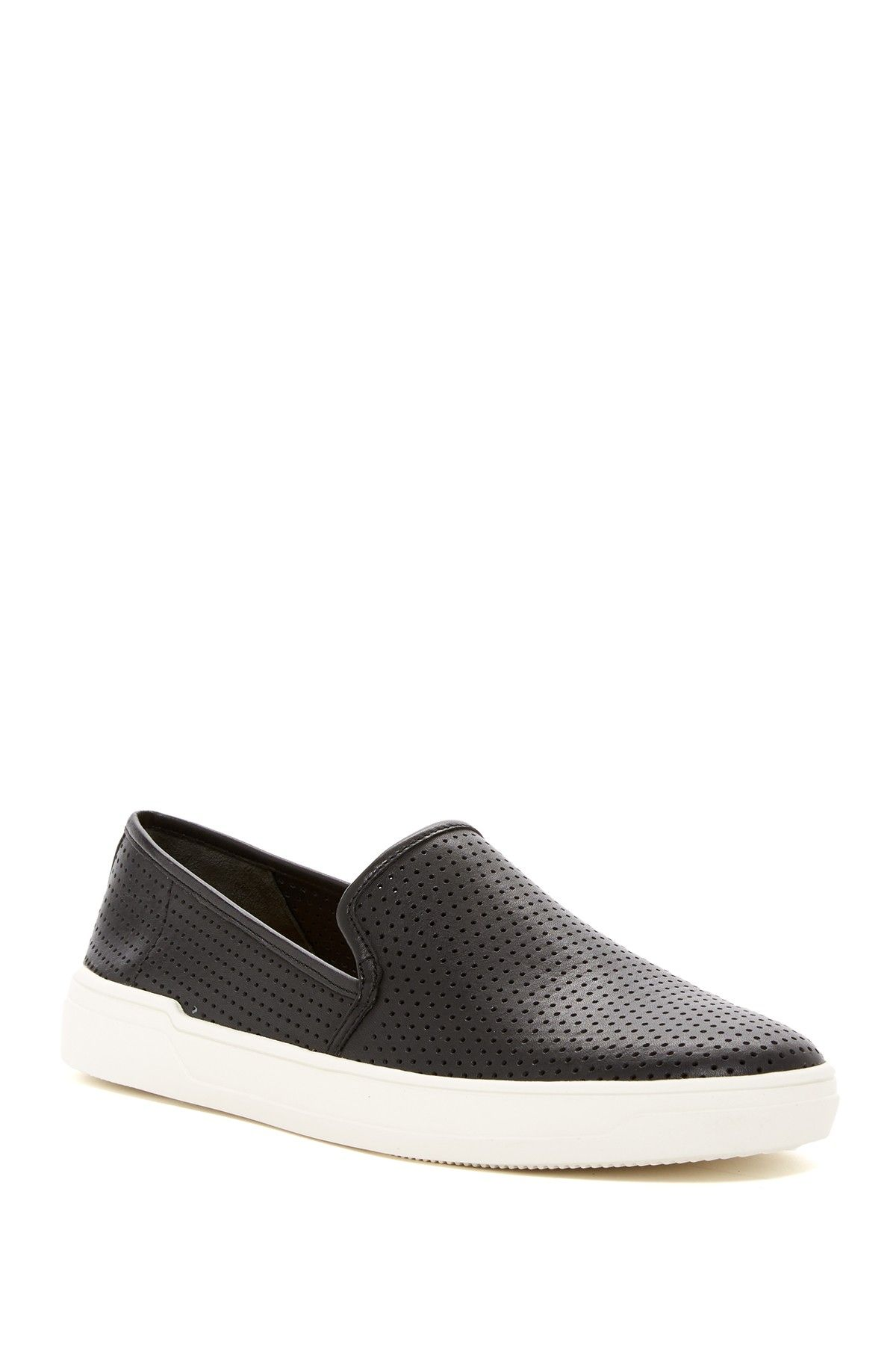 737bcefcd66 Galea Perforated Leather Slip-On Sneaker