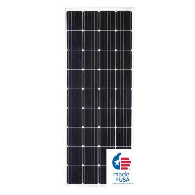 Grape Solar 190 Watt Monocrystalline Pv Solar Panel For Cabins Rv S And Back Up Power Systems In 2020 Solar Panels Flexible Solar Panels Solar Pv Panel