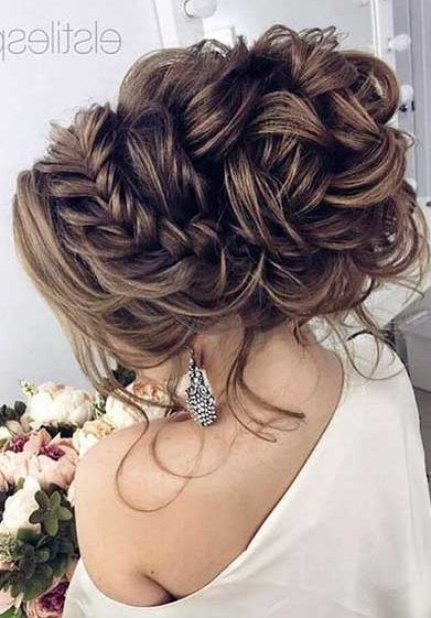 33 Stunning Braided updo - With Hairstyle