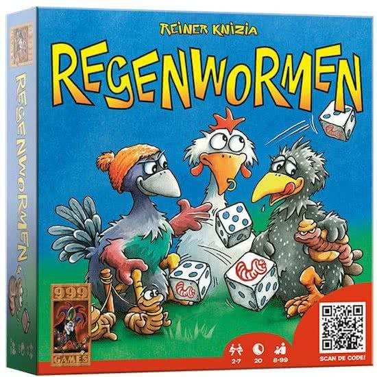 Regenwormen Dobbelspel Board Games 999 Game Games