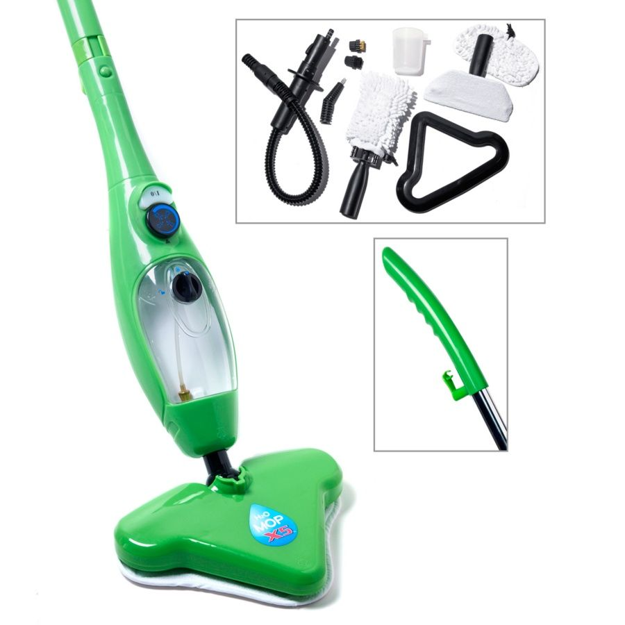 H2o Mop X5 5 In 1 Steam Cleaner With Accessories Hsn Housebeautiful Steam Mop Steam Cleaning Machine Steam Cleaners