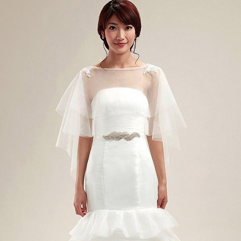 Lace Bolero Wedding Jacket Bolero Feminino Bolero Mariage Wedding Accessories Cheap Appliques Bolero Women Coprispalle Sposa
