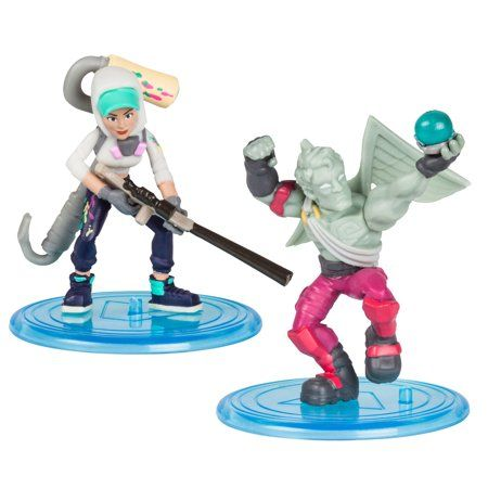 Fortnite Battle Royale Duo Pack Teknique Love Ranger 2 Pack Of Mini Figures Walmart Com In 2020 Fortnite Action Figures Mini Figures