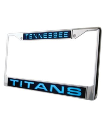 Rico Industries Tennessee Titans Laser License Plate Frame - Team