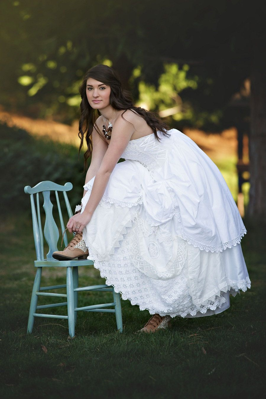 Country style lace wedding dress  Pin by jooana on wedding ideas for you  Pinterest  Lace weddings