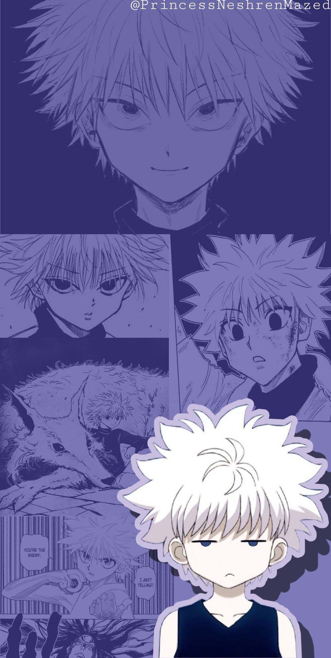 Killua Zoldyck Cute Wallpaper Hunter Anime Cute Wallpapers Cute Anime Wallpaper